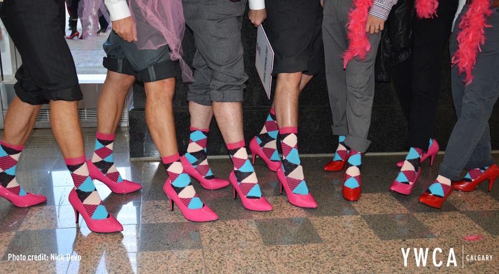 The YWCA Walk a Mile In Her Shoes come to Calgary Tuesday, September 20
