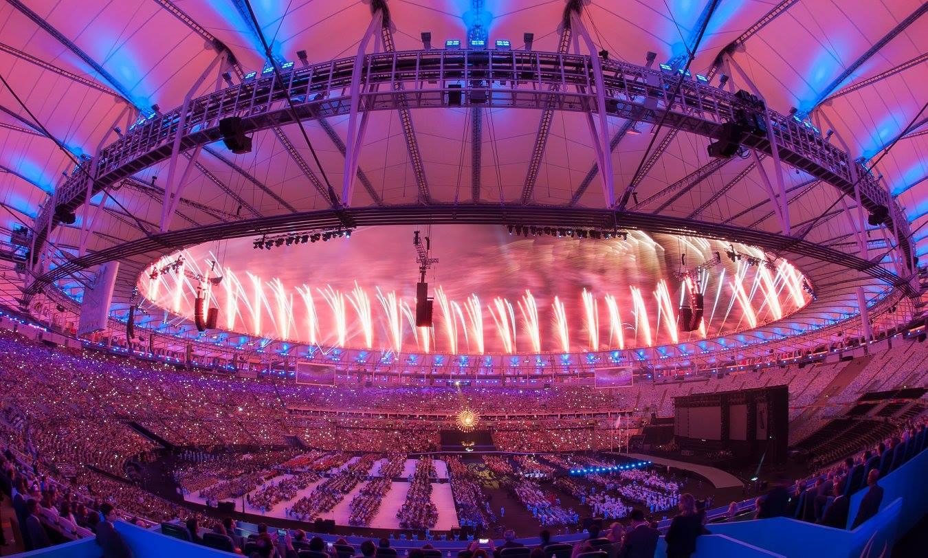 Maracana rio 2016 paralympics closing ceremony
