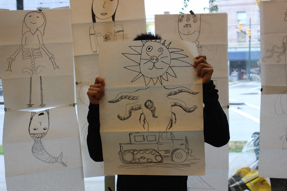 Big Draw Vancouver encourages creative expression for all ages and skill levels