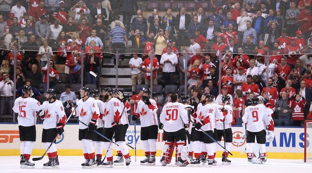 Canada win hockey