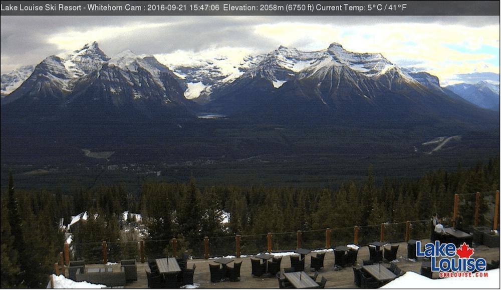 Image: Lake Louise Ski Resort