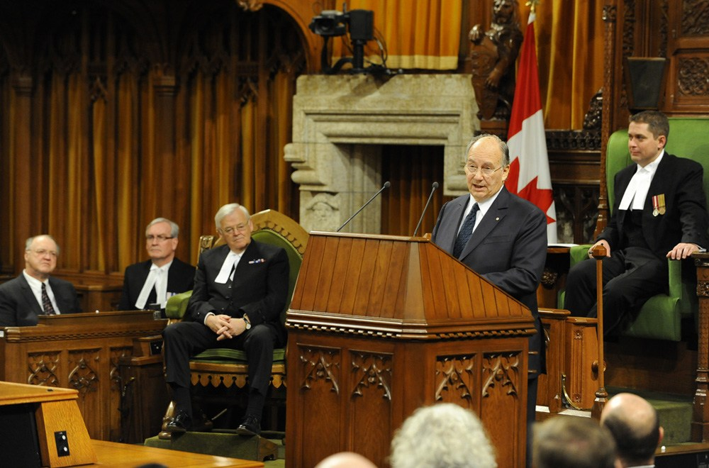 his highness the aga khan canadian parliament