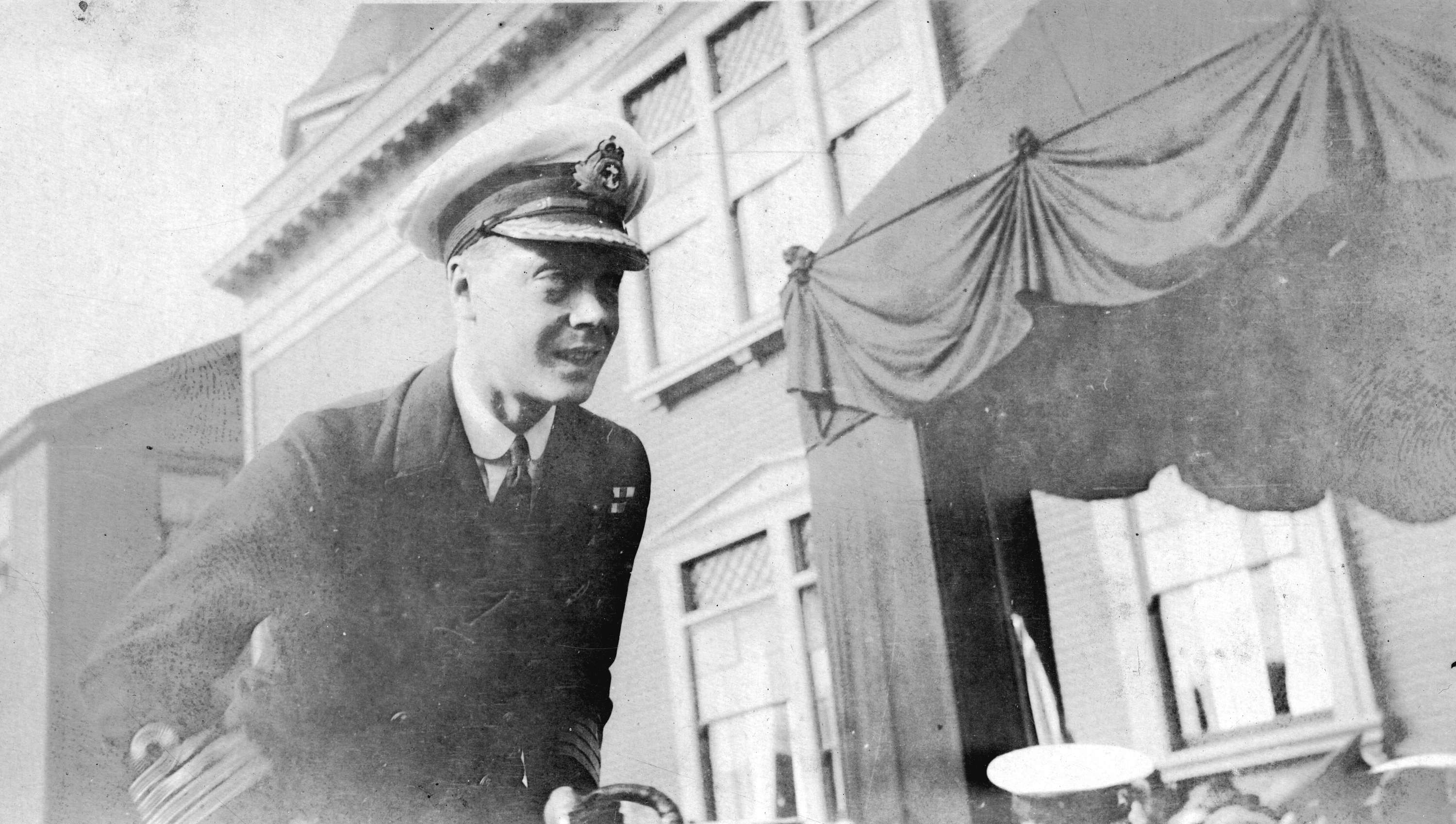 The Prince of Wales (later King Edward VIII) in uniform in Vancouver in 1919 (Public domain)