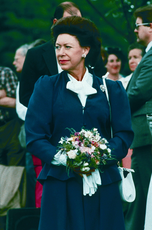 Princess Margaret at Van Dusen Botanical Gardens in 1986 (Public domain)