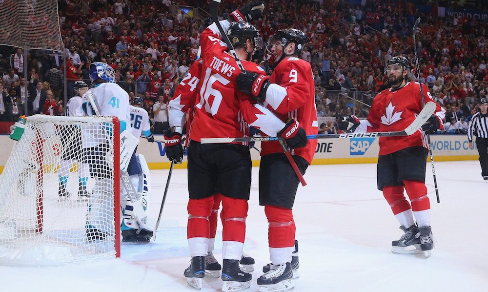 Canada beats Europe 4-1, wins top spot in group at World Cup of Hockey
