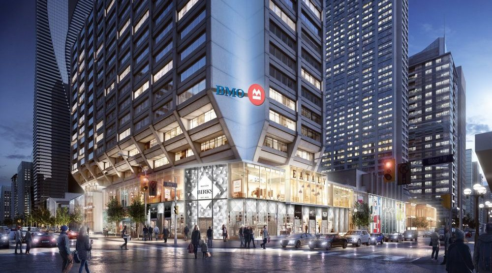 $100-million redevelopment planned for Toronto's Manulife Centre