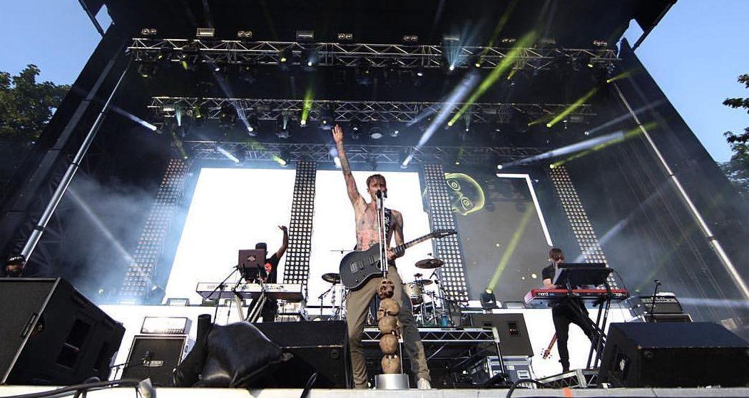 Machine Gun Kelly 2016 concert at Edmonton's Union Hall