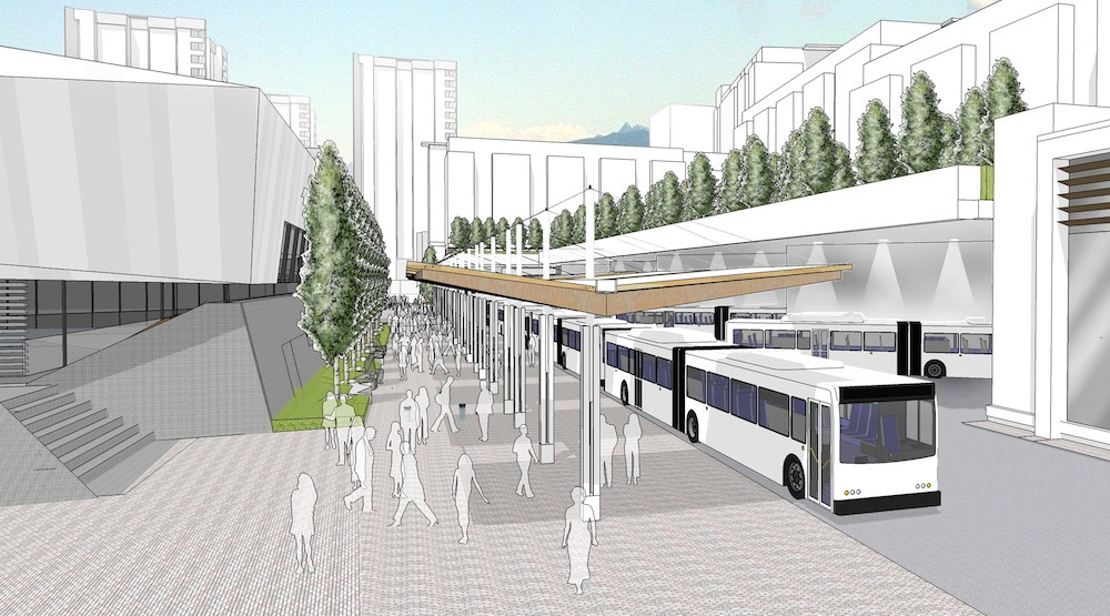 New $22-million UBC bus loop planned at future student residence complex