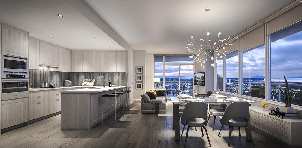 You'll feel like you're always on vacation at Metrotown's new hotel-inspired homes