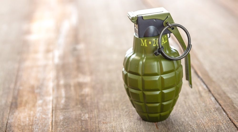 Man with grenades found parked at Vancouver gas station