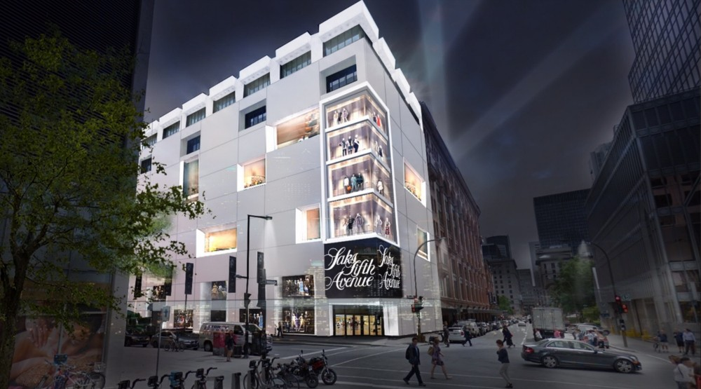 Montreal's Saks Fifth Avenue will be largest to open in Canada