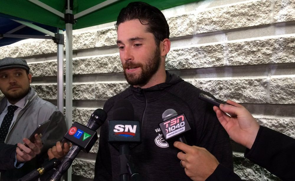 Gudbranson paired with Hutton on first day of Canucks camp