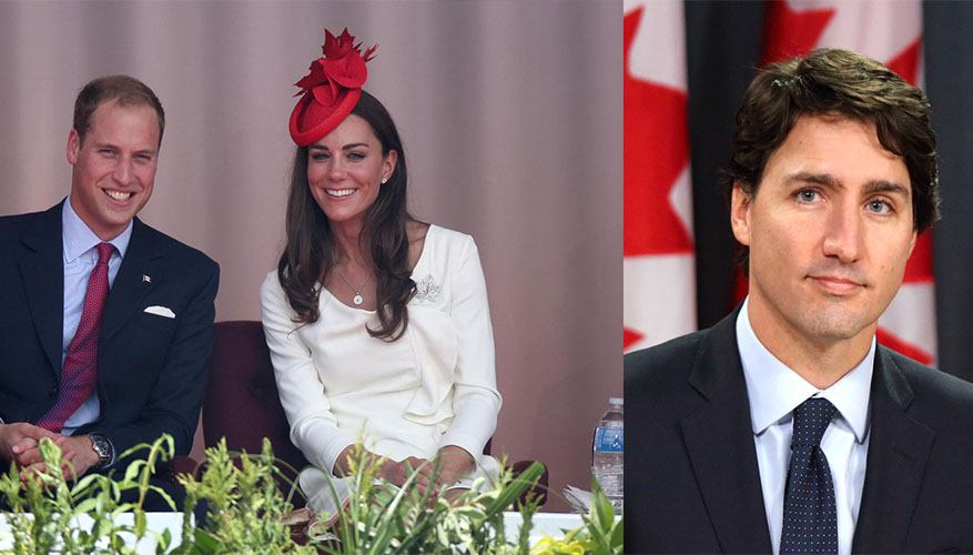 Justin Trudeau heading to BC to greet William and Kate this weekend