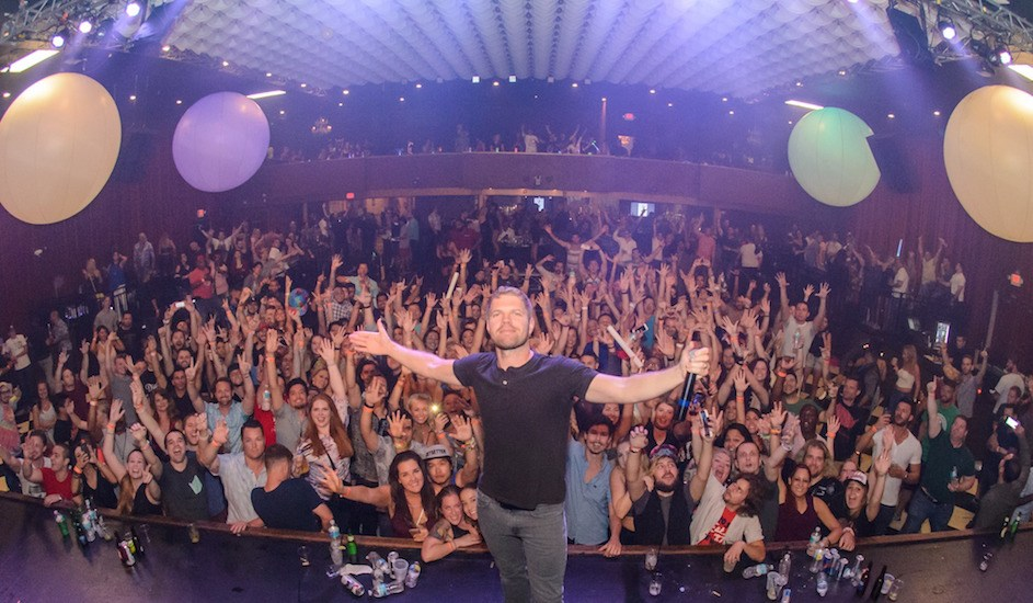 EDM DJ Morgan Page is playing at Marquee this fall