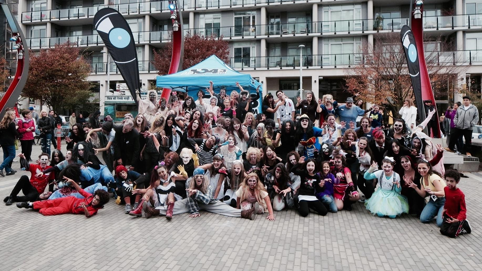 #ThrillVancouver is taking over Olympic Village Plaza in Vancouver in October (Thrill The World Vancouver/Facebook)