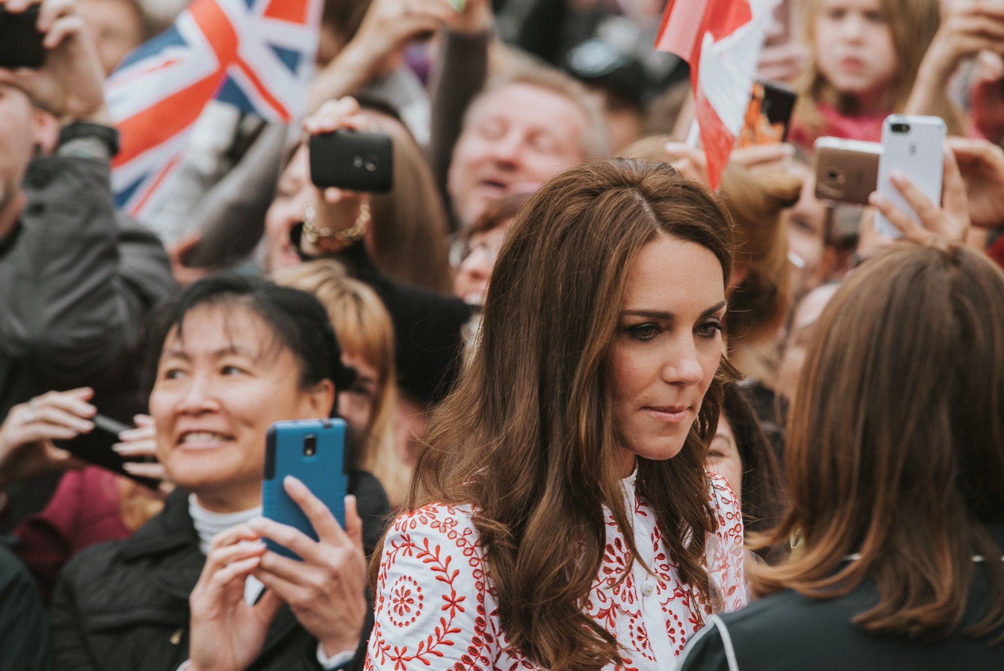 Catherine, Duchess of Cambridge meeting wellwishers in Vancouver (By Alaina Michelle of AntiSocial Media)