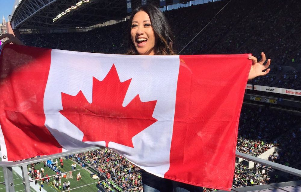 "Seahawks celebrate ""Canada Day"" in Seattle"