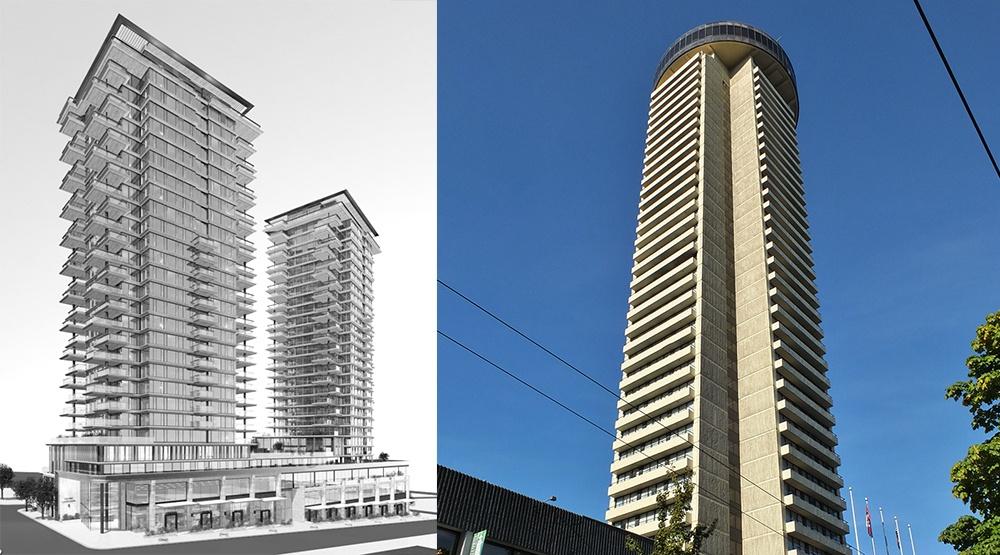 Empire landmark hotel redevelopment vancouver