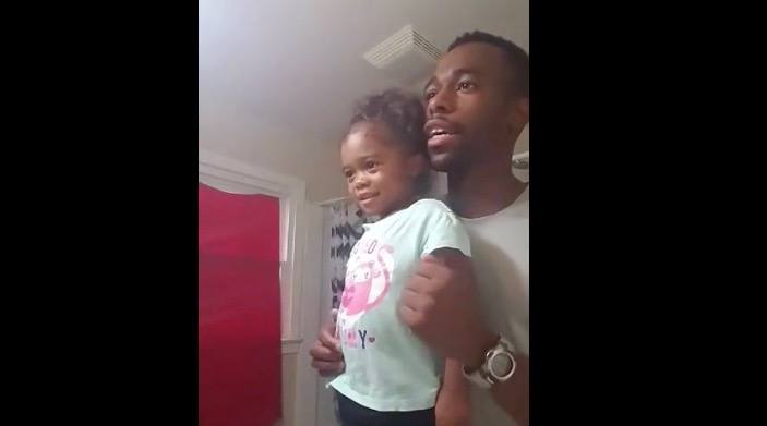 Inspiring father-daughter pep talk is the Monday morning start you need