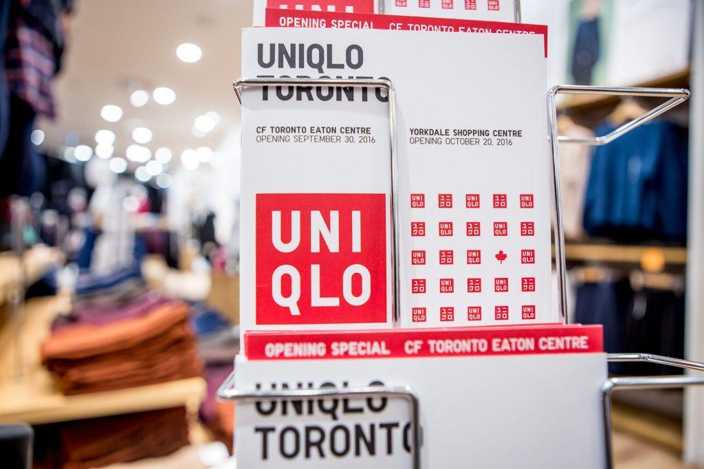 Uniqlo Toronto