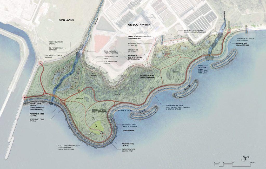 Lakeview waterfront park plan