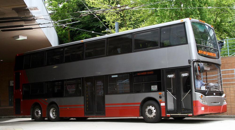 Vancouver double decker bus translink
