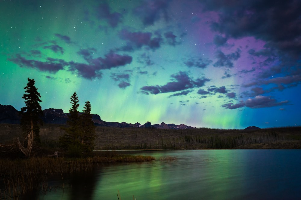Jasper national park dark sky preserves