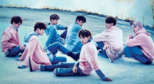 K-pop boy band GOT7 (Frontline Ticket)