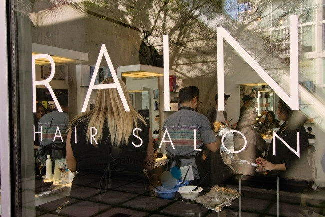 Sip and Shop at Rain Hair Salon this Wednesday