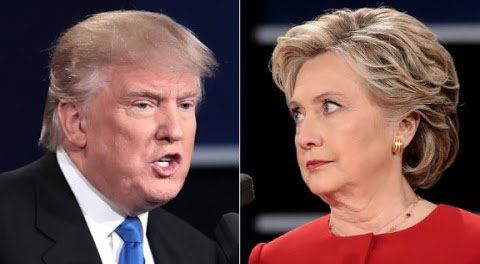 Donald trump and hillary clinton at the first presidential debate cnn