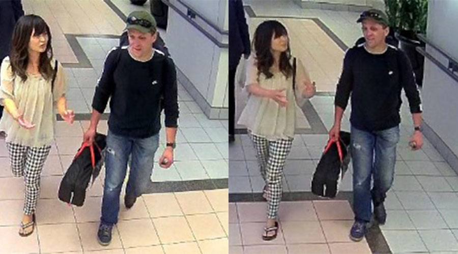 Natsumi Kogawa with William Victor Schneider on September 8, 2016. (Burnaby RCMP)