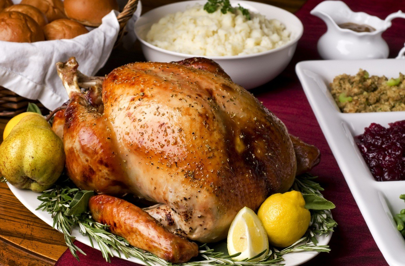 Thanksgiving dinner/Copper Chimney
