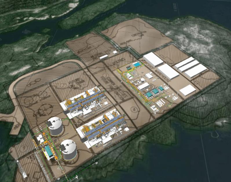 Image: Pacific Northwest LNG / Petronas