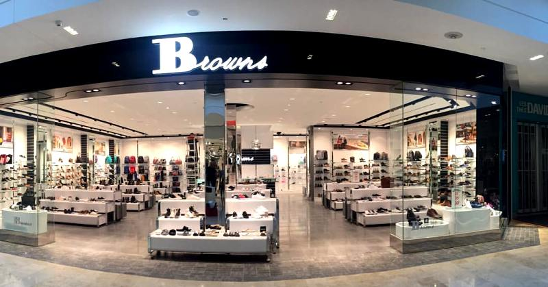 First Browns Shoes outlet to launch in Tsawwassen Mills