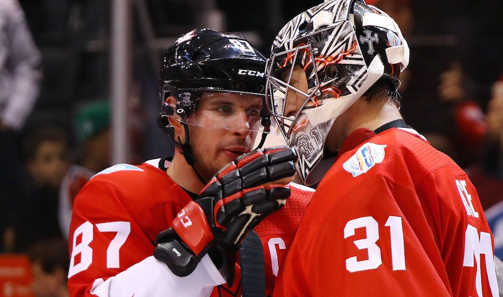 Canada beats Europe 3-1, takes 1-0 series lead in World Cup Final