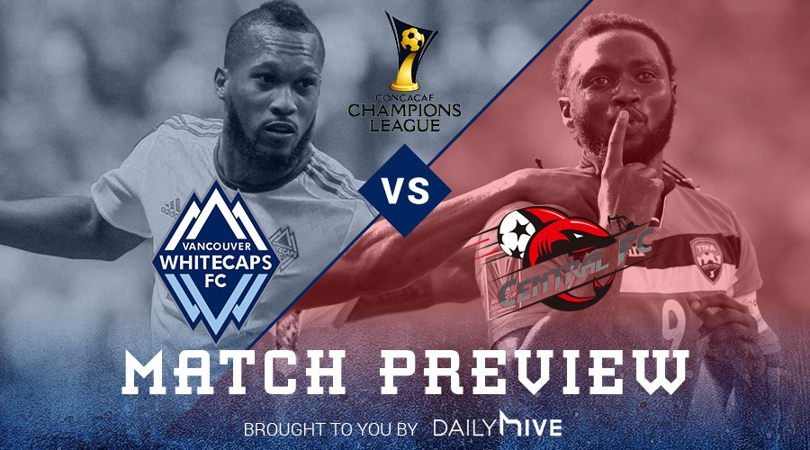 Match Preview: Whitecaps welcome Central FC in Champions League