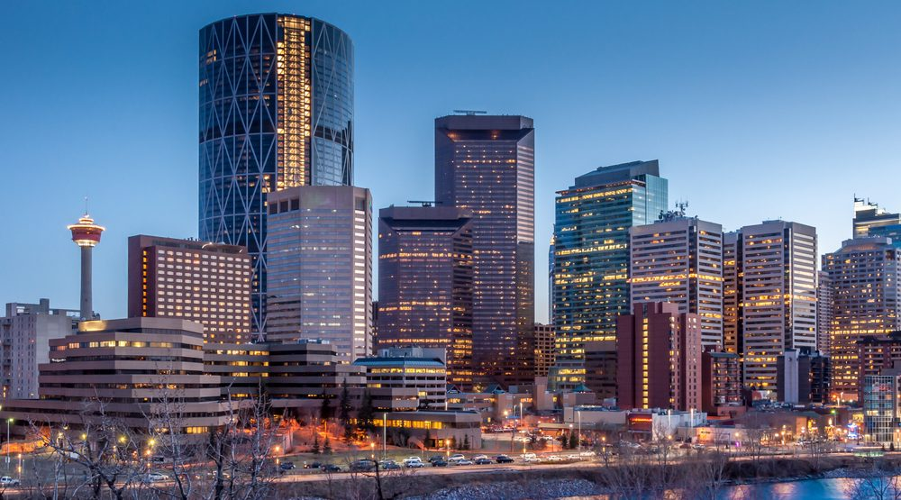 Small positive uptick for troubled downtown Calgary office market