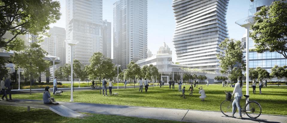 M City, image via Rogers Real Estate Development Ltd.