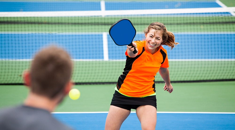 Pickleball player ahturnershutterstock