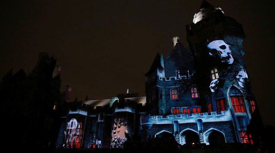 holy sh t casa loma is being turned into a haunted house