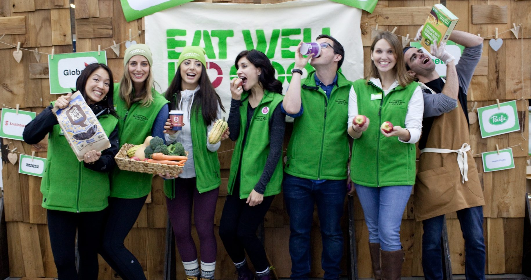 Eat Well Do Good: Pop-up organic market in Vancouver for a good cause