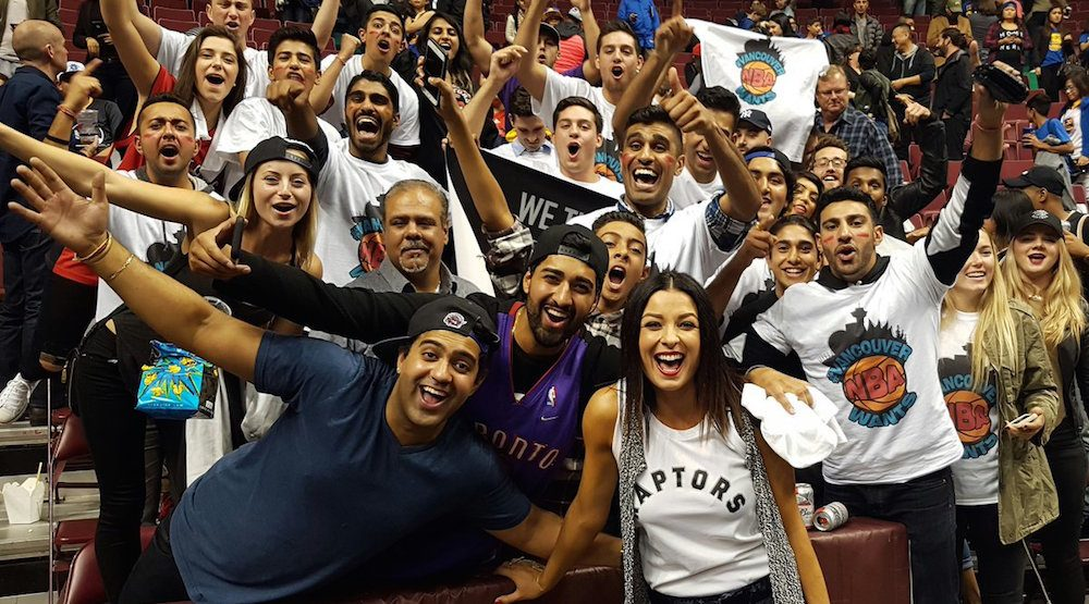Ticket prices skyrocket for Raptors game in Vancouver this weekend