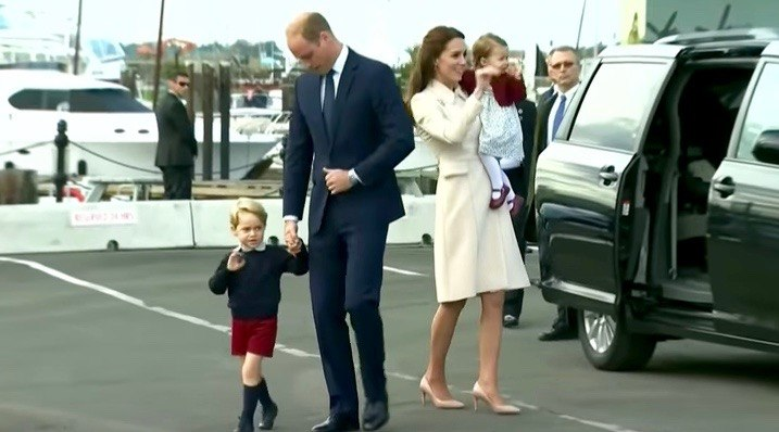 Prince George leaves Canada, but not before wonderfully denying another high five (VIDEO)