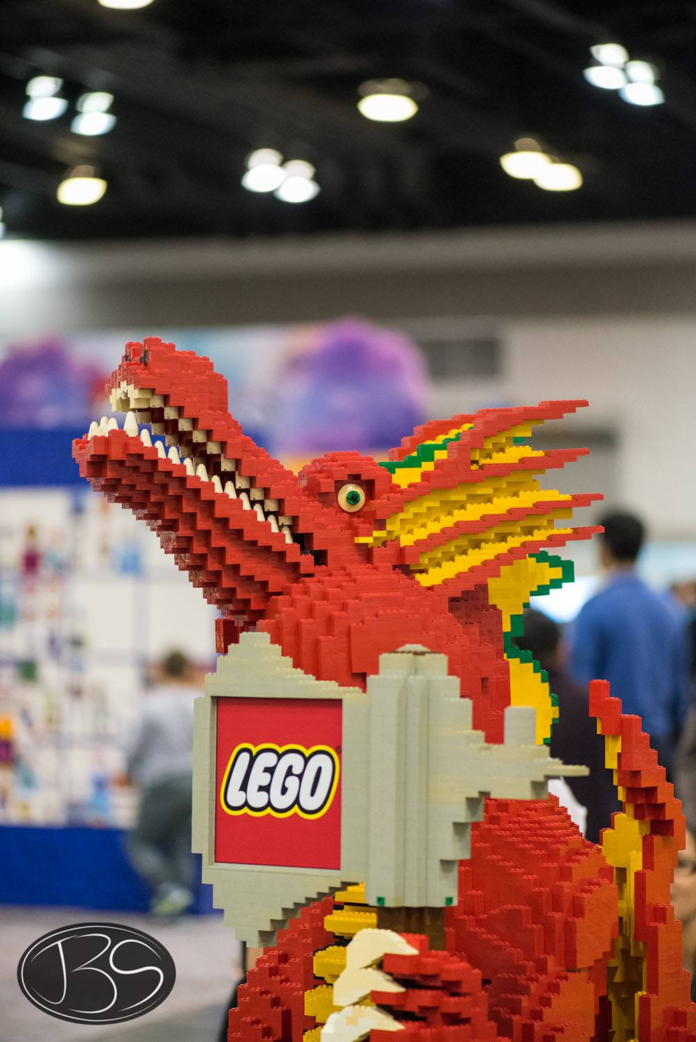 Dragon at the LEGO Imagine Nation Tour in Vancouver (Justin Siu)