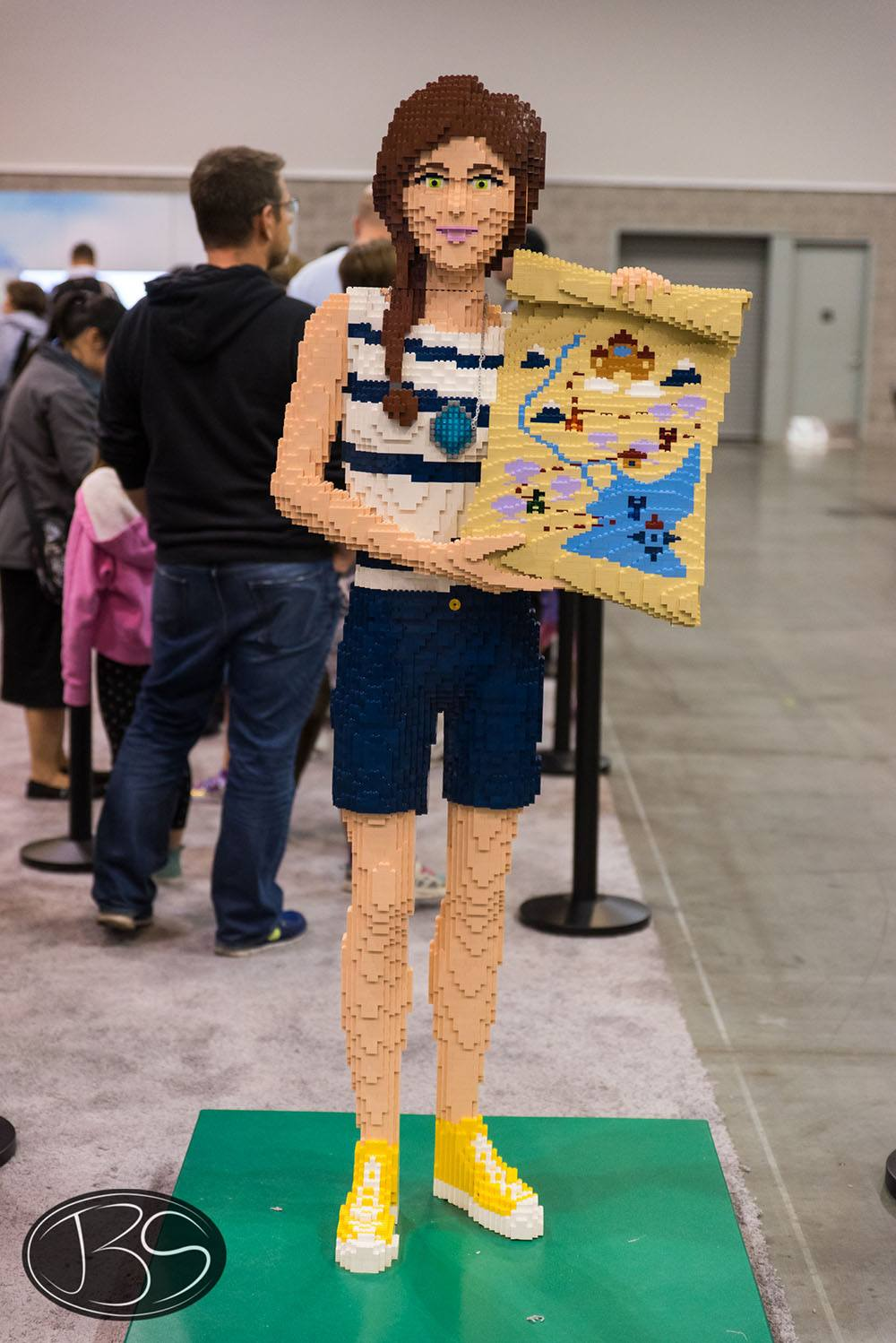 Artist at the LEGO Imagine Nation Tour in Vancouver (Justin Siu)