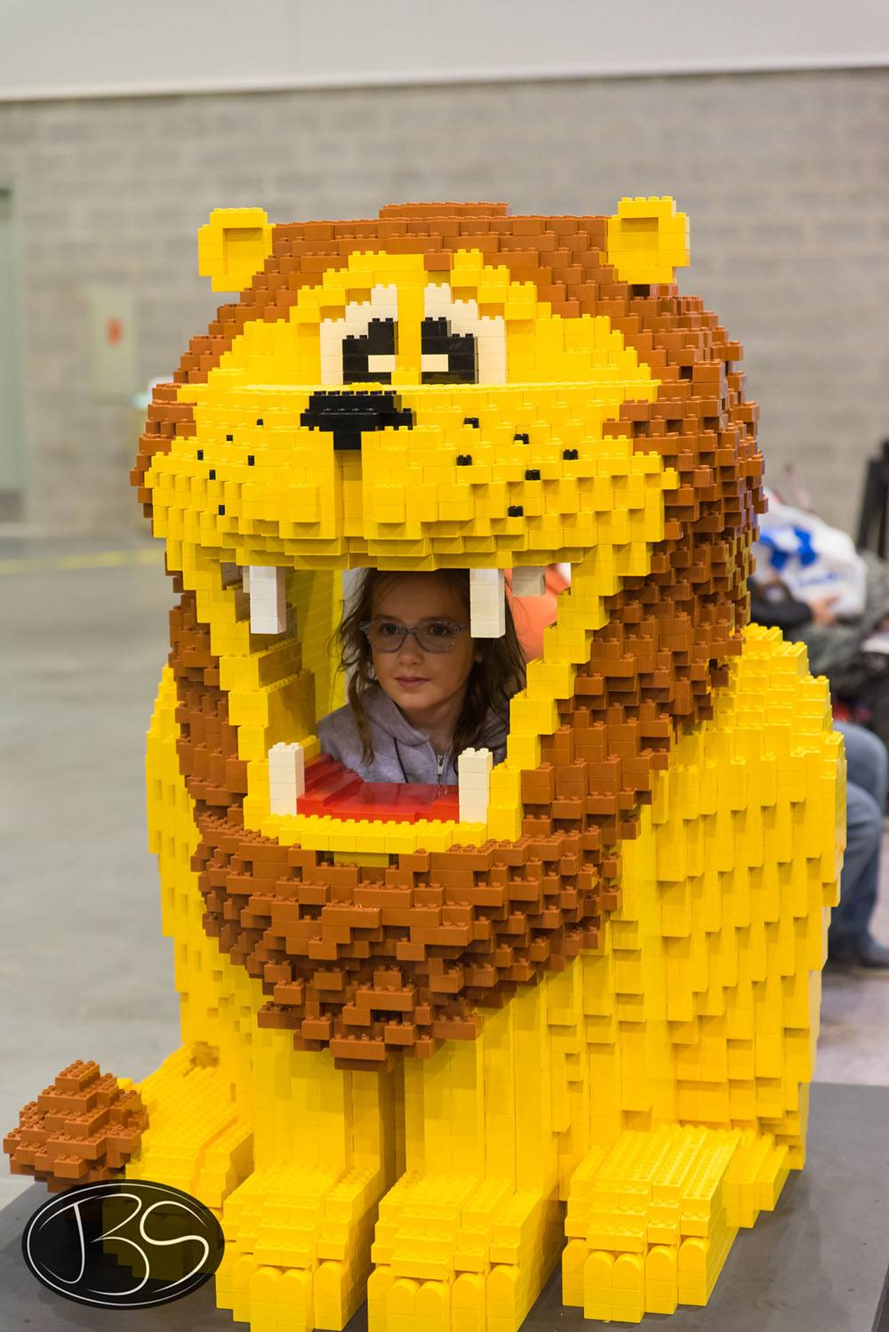 Lion at the LEGO Imagine Nation Tour in Vancouver (Justin Siu)