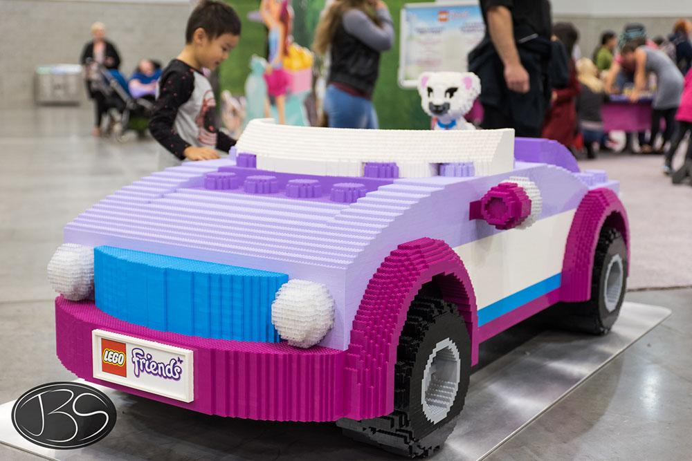LEGO Friends car at the LEGO Imagine Nation Tour in Vancouver (Justin Siu)