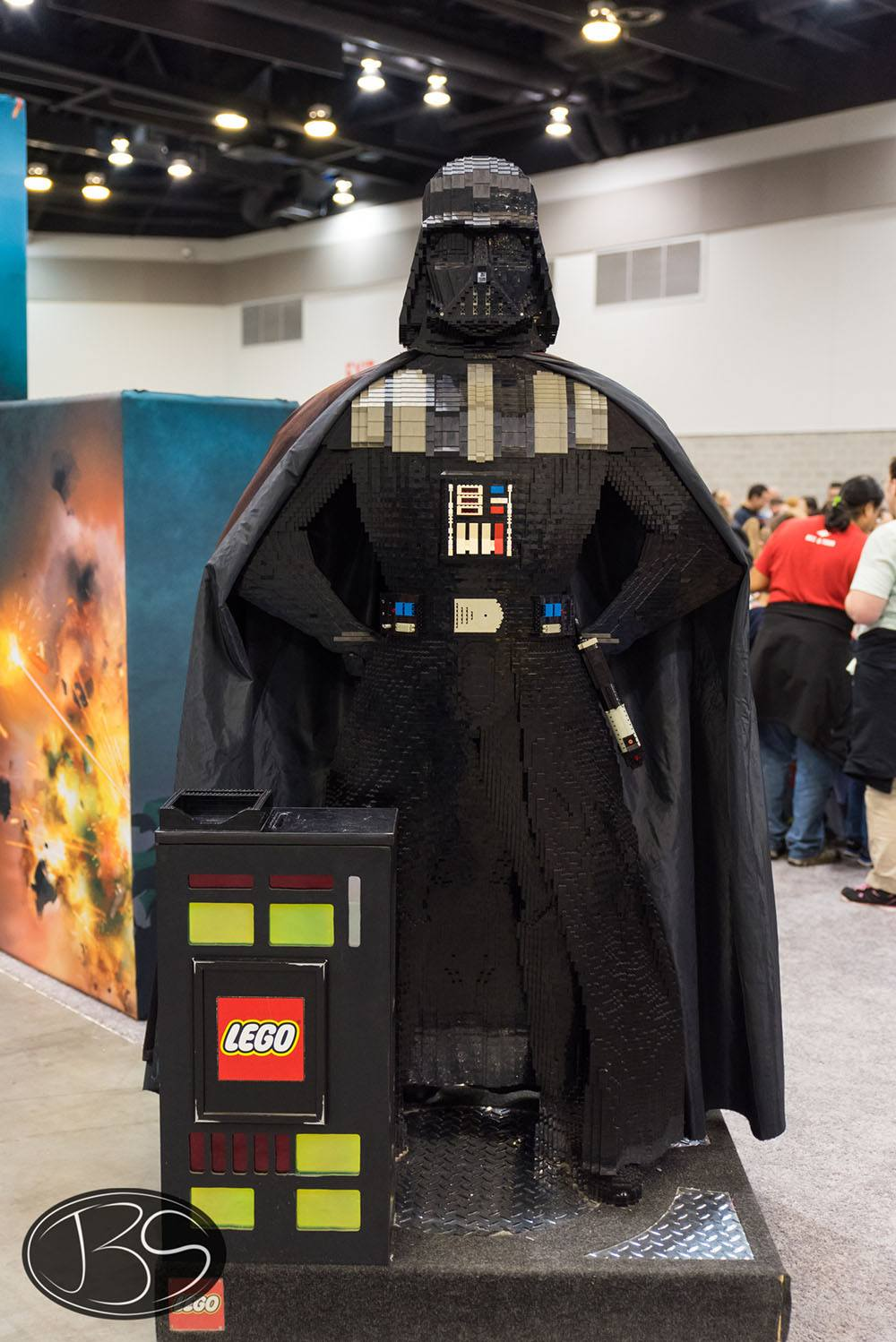 Darth Vader at the LEGO Imagine Nation Tour in Vancouver (Justin Siu)