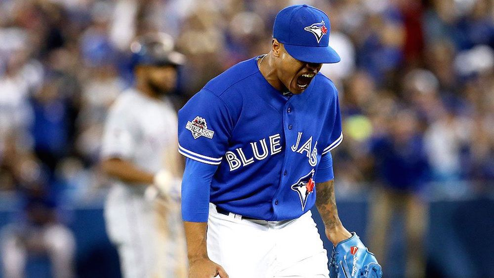 Blue Jays' Stroman flips out after question that had 'nothing to do with the game'