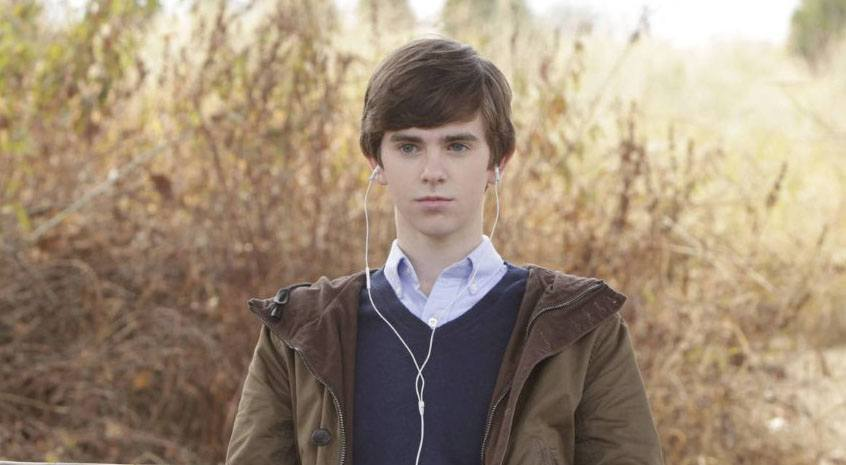 Freddie Highmore as Norman Bates in Bates Motel (A&E)